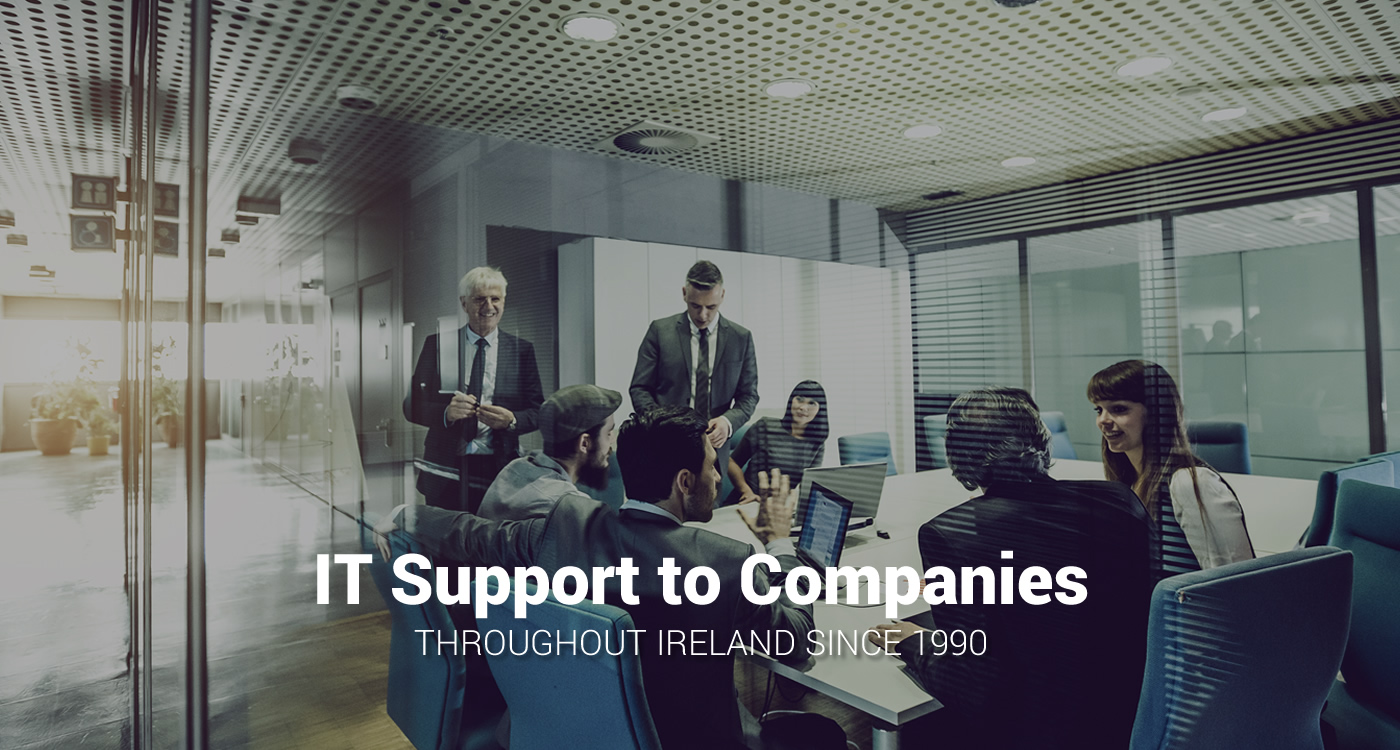 it support to companies through ireland since 1990